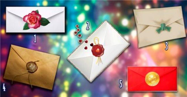 Выберите конверт