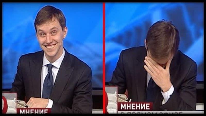 В прямом эфире старушка рассказала такой «анекдот», что ведущий не смог сдержать смех!