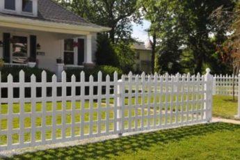 Забор в США своими руками