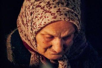 Бабушку похоронили зимой