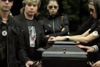 Появились фото с похорон Бари Алибасова