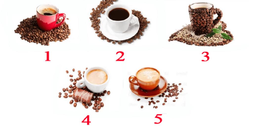 Выберите чашку кофе и она расскажет о ваших способностях