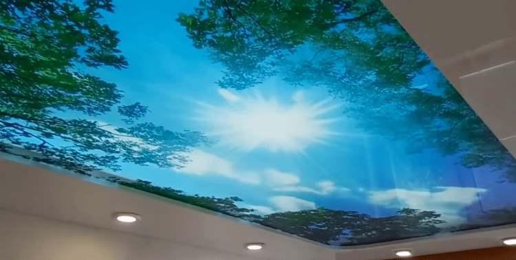Натяжные потолки: преимущества качества и стиля