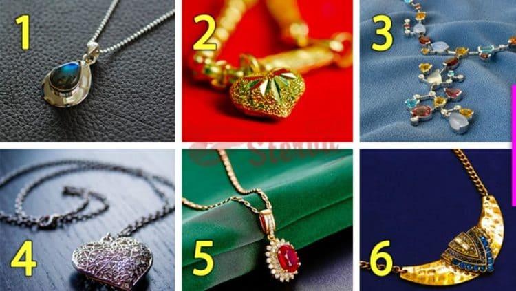 Тест Ваш стиль: Выберите украшение и узнайте о своем стиле