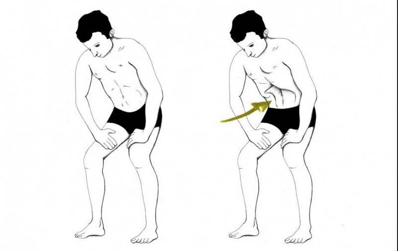Как легко убрать большой живот: всего одно простое упражнение!
