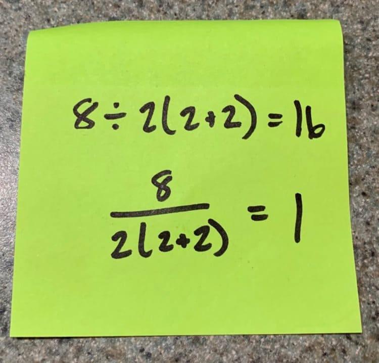 Математик дала решение уравнения, которое разделило интернет на 2 части