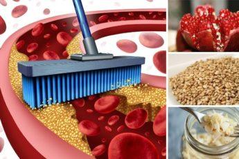 10 лучших продуктов для прочищения артерий. Защитите своё сердце!