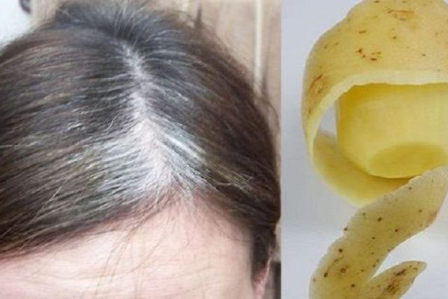 Натуральное средство от седых волос