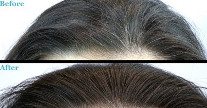 Одна капсула, которая навсегда превратит седые волосы в черные от корней