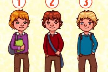 Тест: Кто из них мальчик?