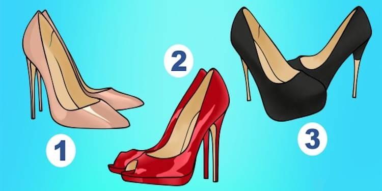 Выберите пару туфель и узнайте, кто вы: служанка, принцесса или королева!