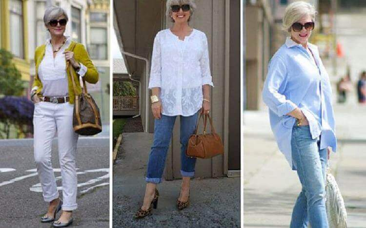 3 важных правила относительно джинсов для дам 50+