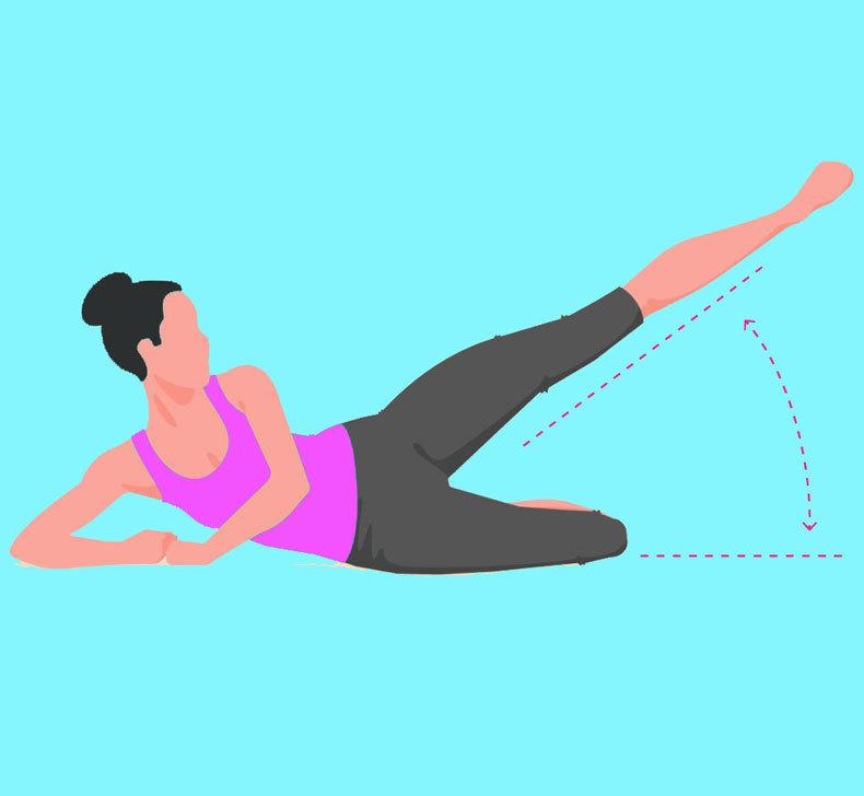Упражнения для стройных бедер и подтянутых ягодиц