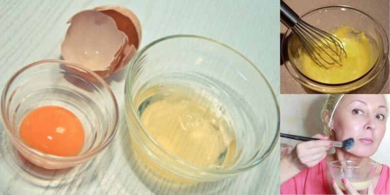 Подтягивающая маска с белком и перекисью для идеальной кожи без морщин