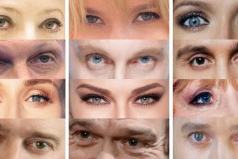 Можете ли вы определить российских знаменитостей только по их глазам?