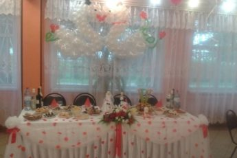 Побывали на свадьбе друзей в провинциальной столовой: как будто попали в советскую эпоху.Показываю,чем нас там угощали