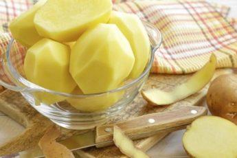 Картофельные протирания стирают годы с лица, поддерживают красоту и здоровье кожи
