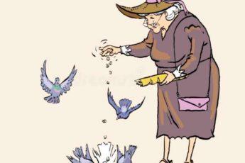 Чтобы вам везло в жизни кормите птиц и говорите такие слова