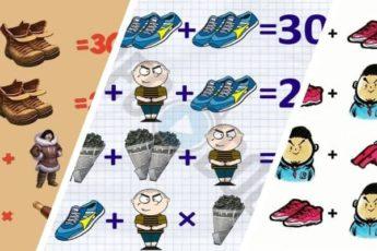 Тест на логику с ботинками, человеком,... - решение и ответ